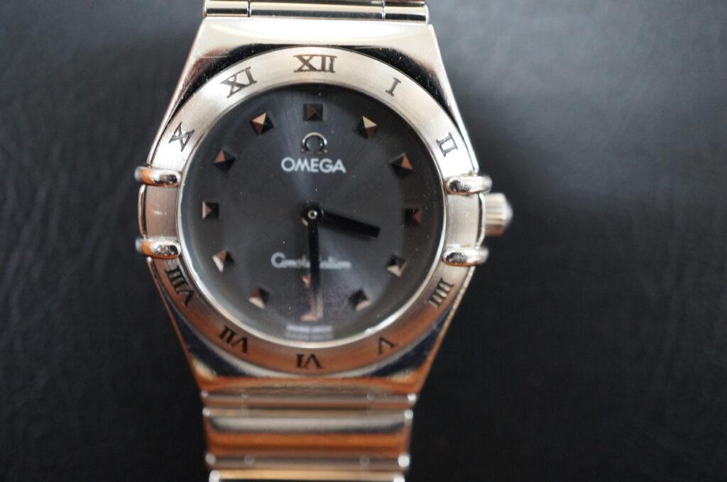 No.2549  OMEGA constellation (オメガ コンステーション) クォーツ式 腕時計を修理しました