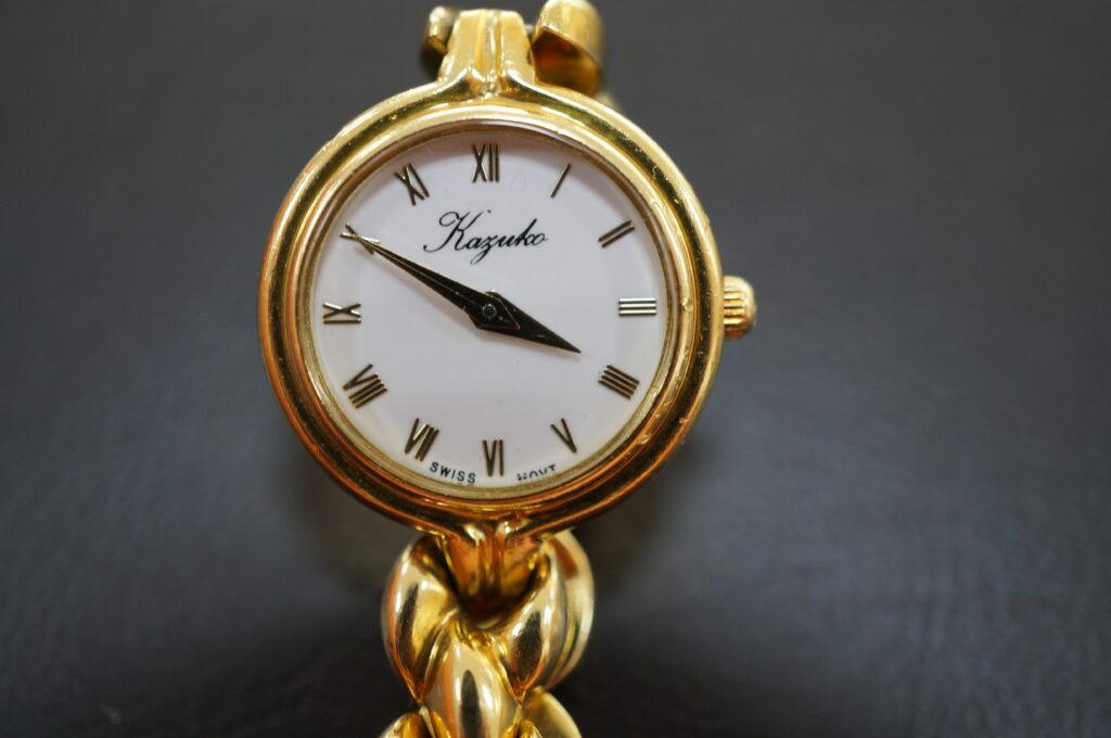 No.2546  Kayuko クオーツ式 腕時計を修理しました