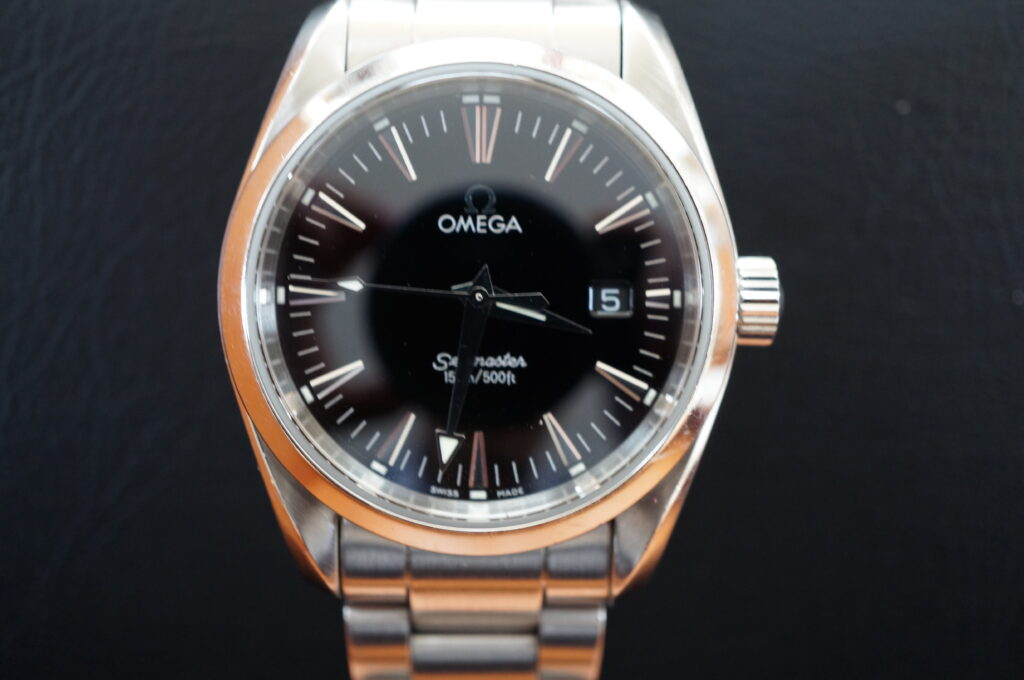 No.2562  OMEGA Seamaster  (シーマスター) 自動巻き 腕時計を修理しました