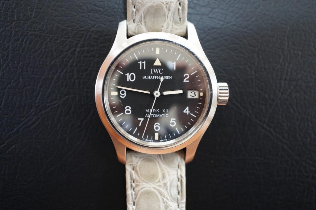 No.2561  IWC  (インターナショナル・ウォッチ・カンパニー) 自動巻き時計を修理しました