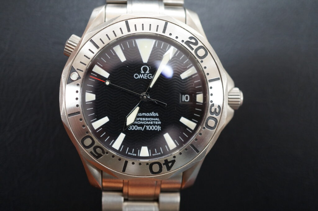 No.2570  OMEGA Seamaster  (シーマスター) 自動巻き 腕時計を修理しました