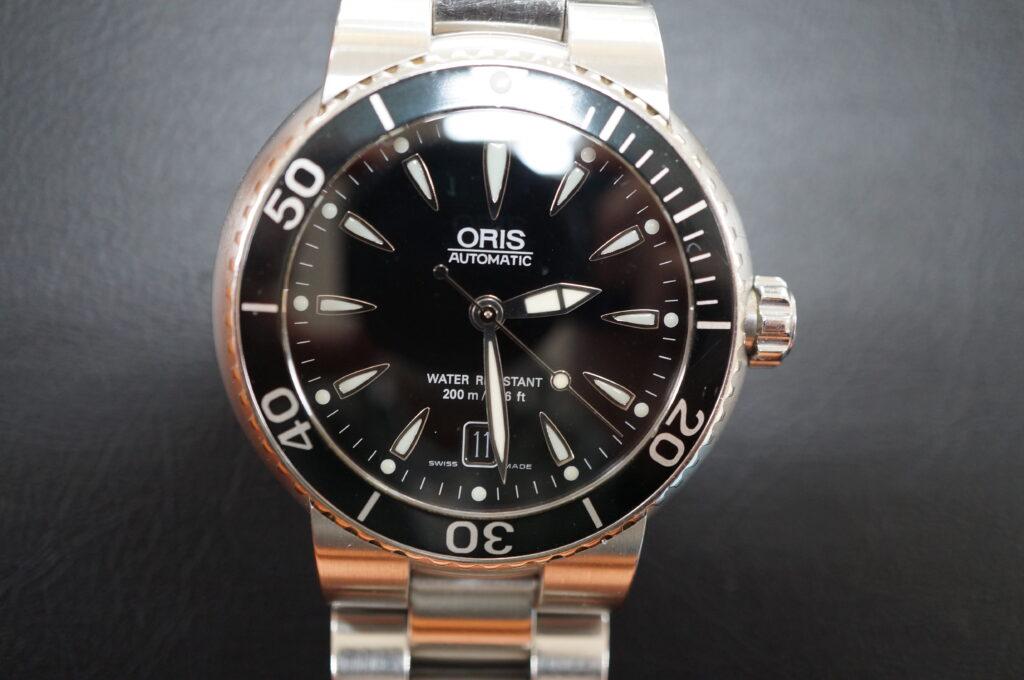 No.2567  ORIS(オリス)自動巻 腕時計を修理しました