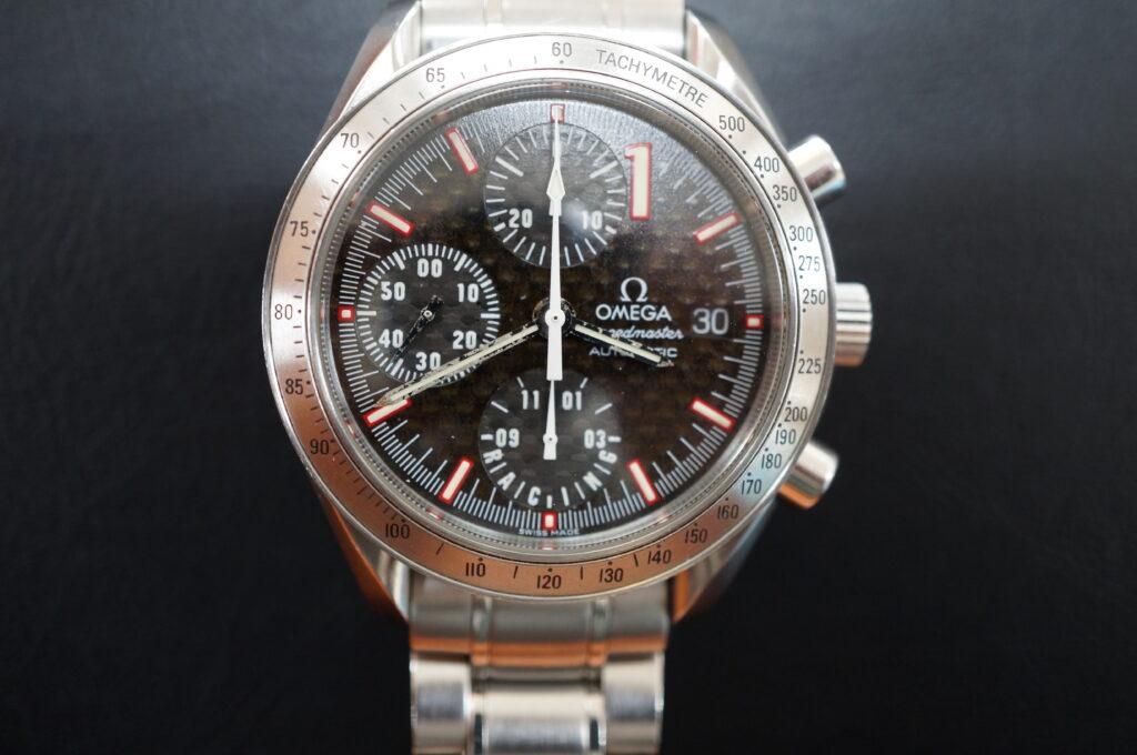 No.2566  OMEGA Speedmaster (オメガスピードマスター) 自動巻き 腕時計を修理しました