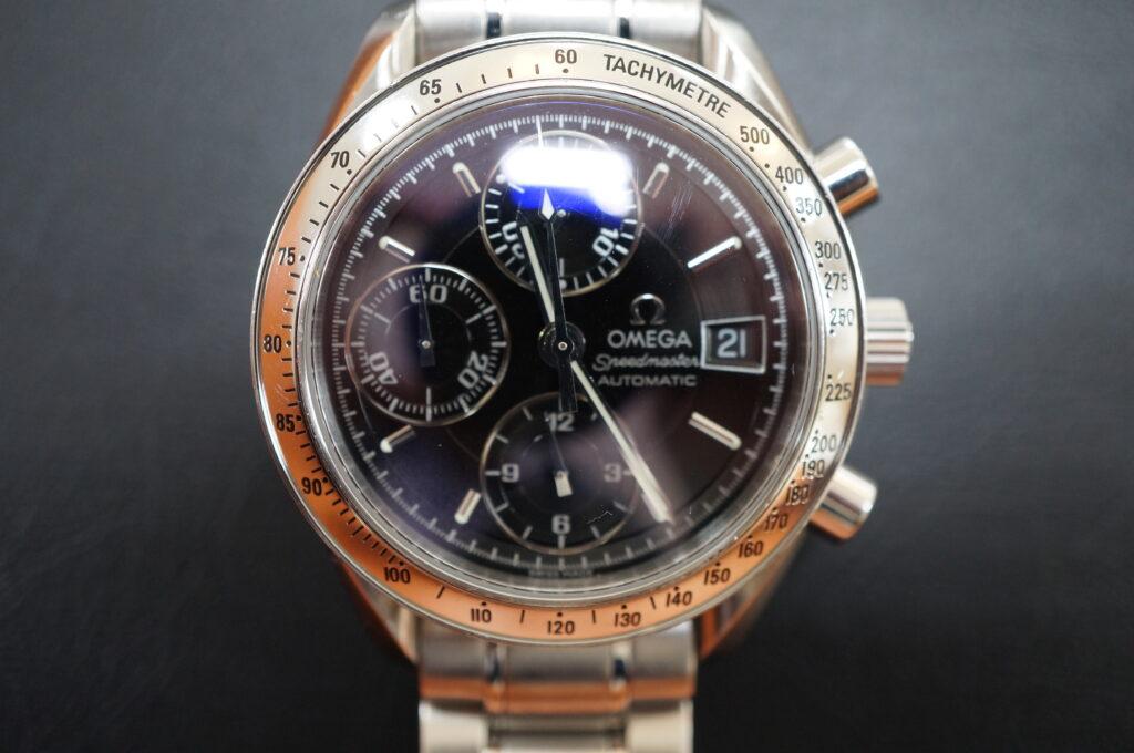No.2574  OMEGA Speedmaster (オメガスピードマスター) 自動巻き 腕時計を修理しました