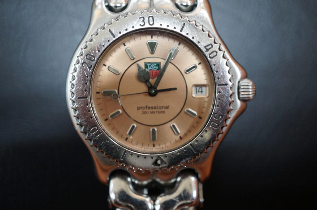 No.2578  TAG HEUER(タグホイヤー)クオーツ式 腕時計を修理しました