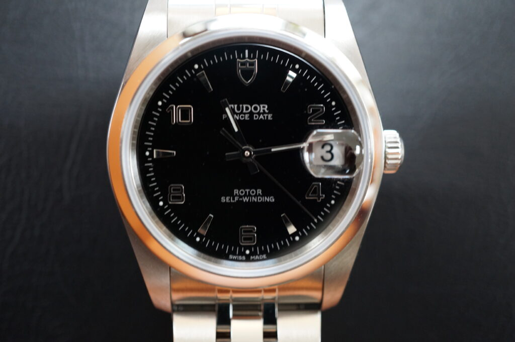 No.2590  TUDOR(チュードル)自動巻 腕時計を修理しました