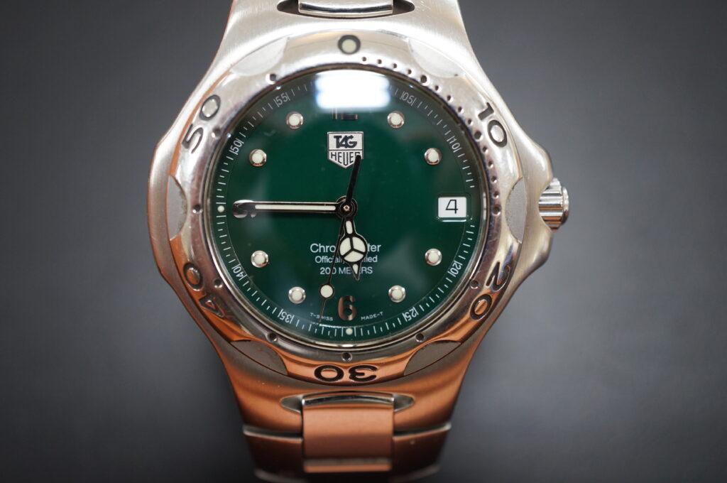 No.2580  TAG HEUER(タグホイヤー)クオーツ式 腕時計を修理しました