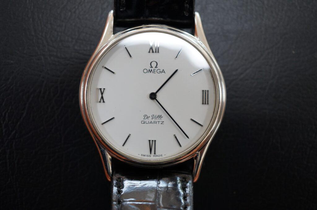 No.2592  OMEGA Devill (オメガ・デビル ) クォーツ式腕時計を修理しました