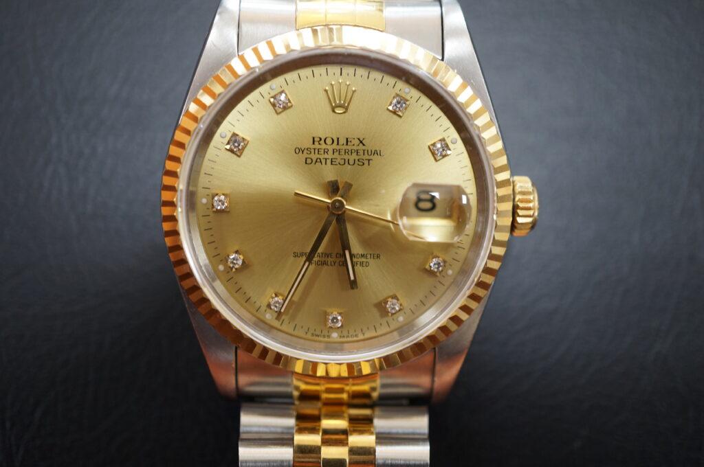 No.2593  ROLEX(ロレックス)自動巻 腕時計を修理しました