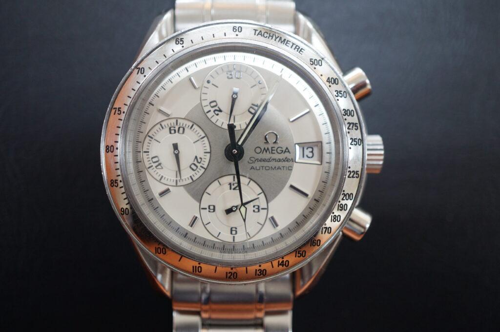 No.2599  OMEGA Speedmaster (オメガスピードマスター) 自動巻き 腕時計を修理しました