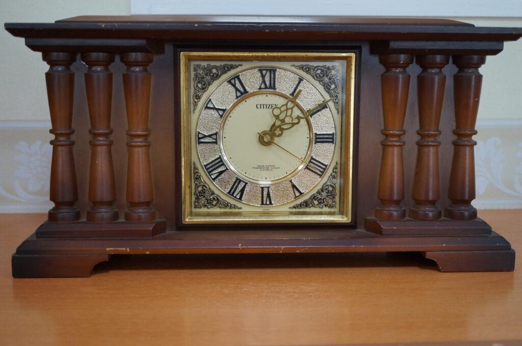No.2600  CITIZEN (シチズン) クォーツ式置時計を修理しました