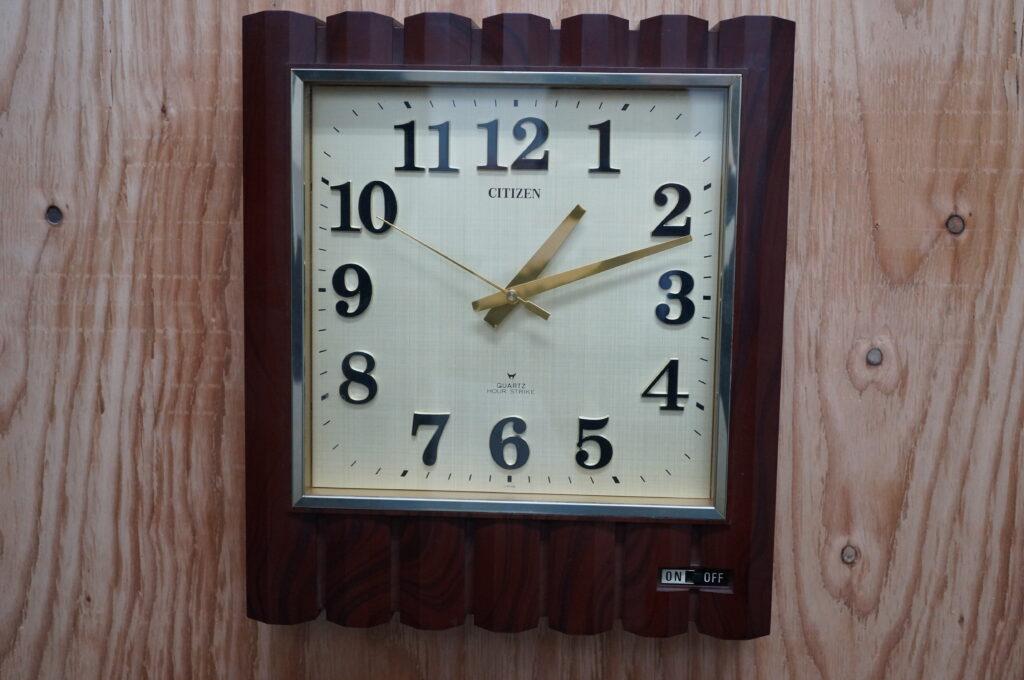 No.2601  CITIZEN (シチズン) クォーツ式掛け時計を修理しました