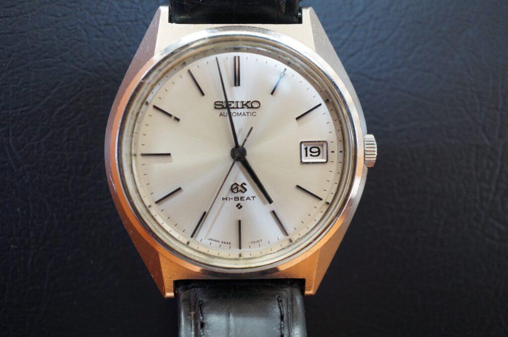 No.2602  SEIKO GS  (セイコー ) 自動巻式 腕時計を修理しました