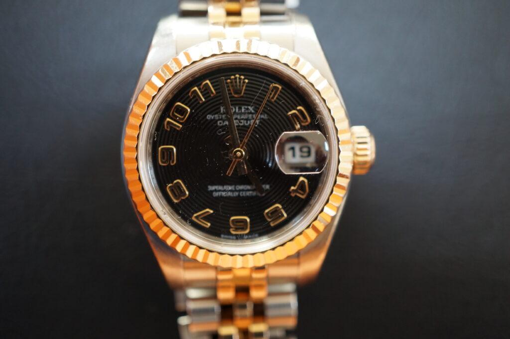 No.2604  ROLEX(ロレックス)自動巻 腕時計を修理しました