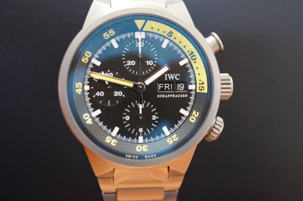 No.2603  IWC  (インターナショナル・ウォッチ・カンパニー) 自動巻き時計を修理しました