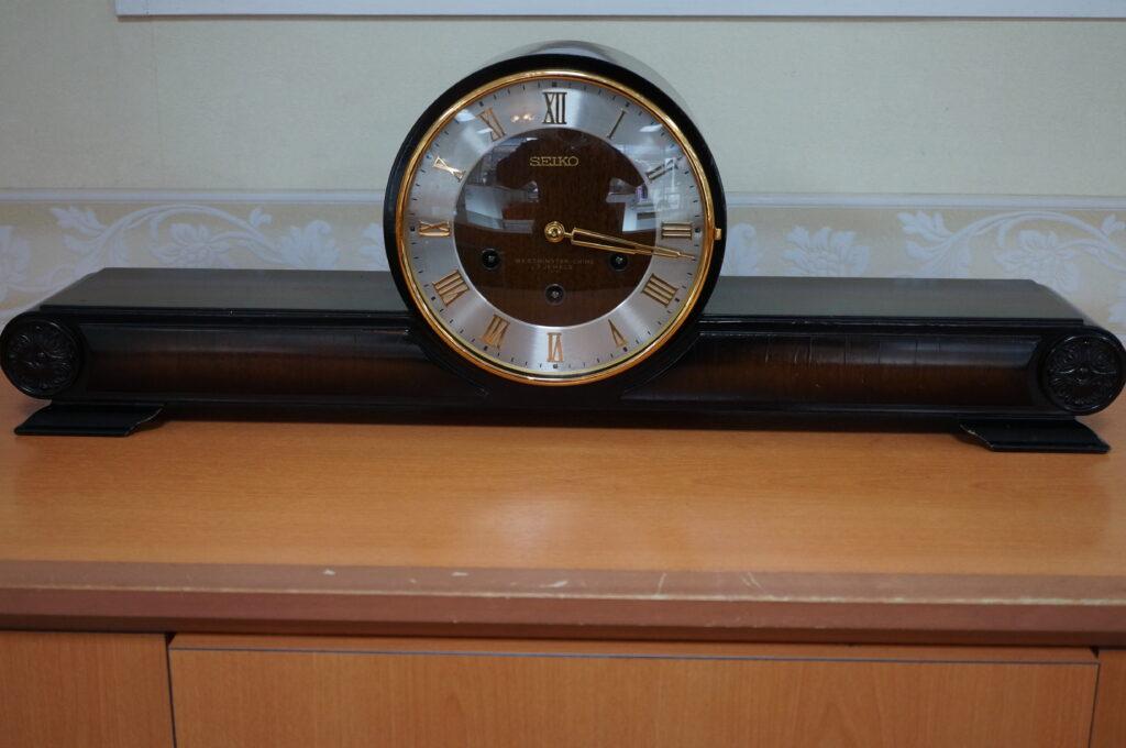 No.2610  SEIKO(セイコー)ゼンマイ式 置時計を修理しました