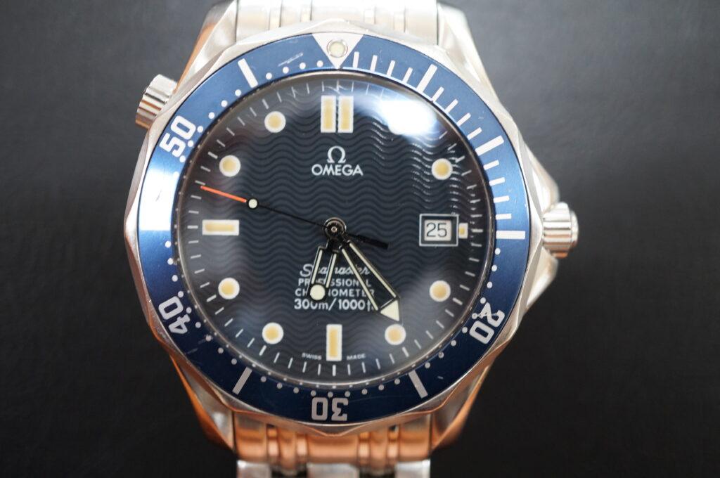 No.2612  OMEGA Seamaster  (シーマスター) 自動巻き 腕時計を修理しました