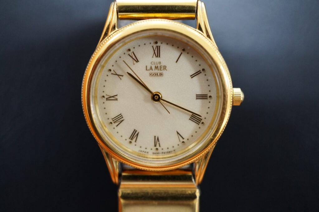 No.2606  LAMER CITIZEN (シチズン) クォーツ式  腕時計を修理しました