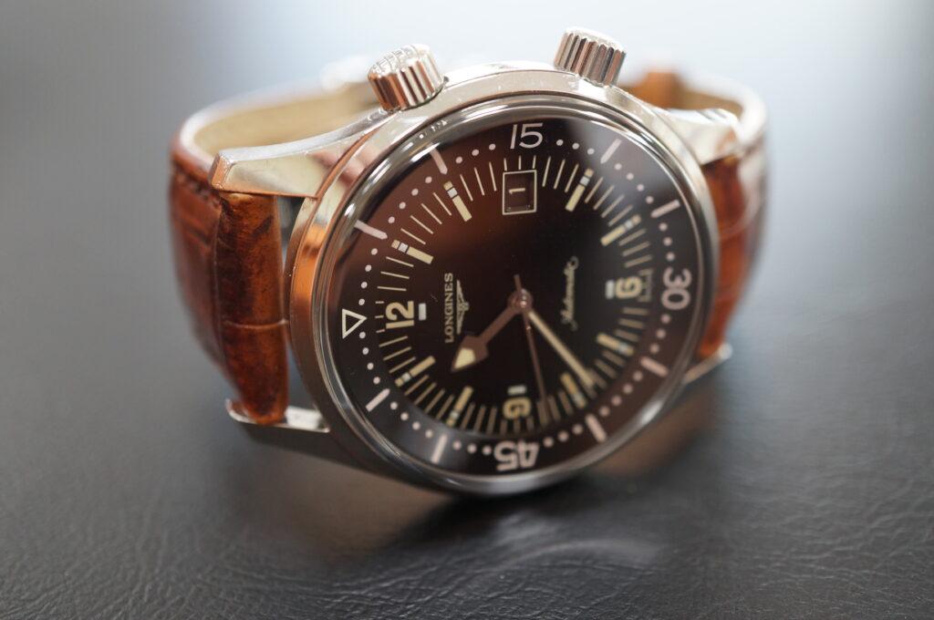 No.2605  LONGINES  (ロンジン) 自動巻式 腕時計を修理しました