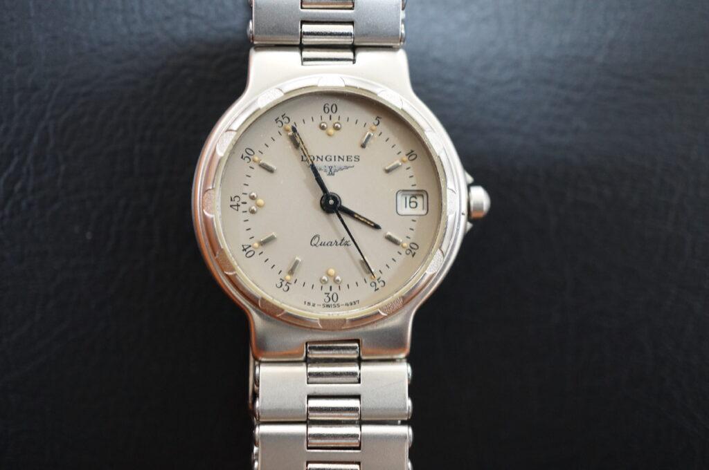 No.2616  LONGINES  (ロンジン) 自動巻式 腕時計を修理しました