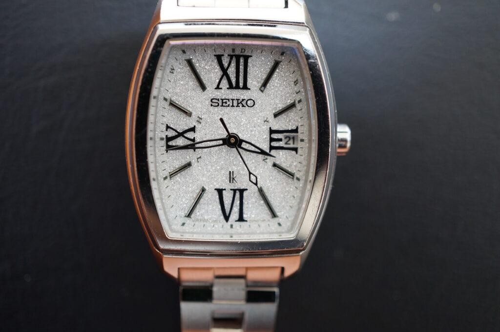No.2622  SEIKO LUKIA   (セイコールキア ) ソーラー式 腕時計を修理しました