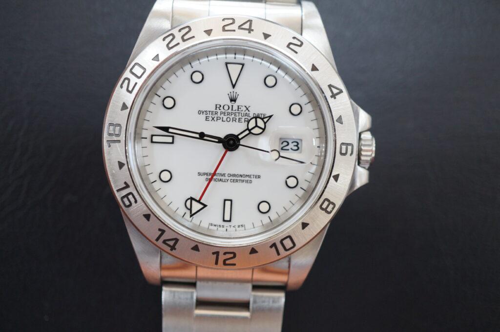 No.2623  ROLEX(ロレックス)自動巻 腕時計を修理しました