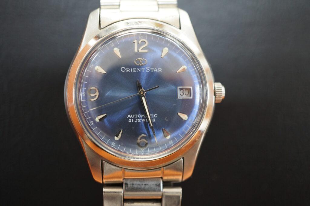 No.2630  ORIENT STAR(オリエントスター)自動巻 腕時計を修理しました