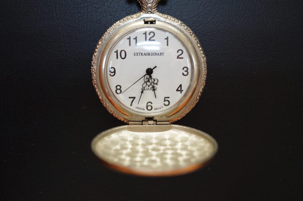 No.2641  EXTRAORDINARY 懐中時計を修理しました