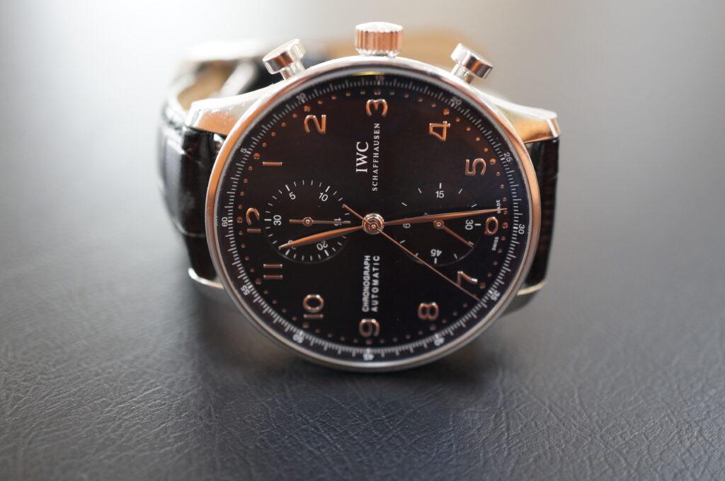 No.2642  IWC  (インターナショナル・ウォッチ・カンパニー) 自動巻き 腕時計を修理しました
