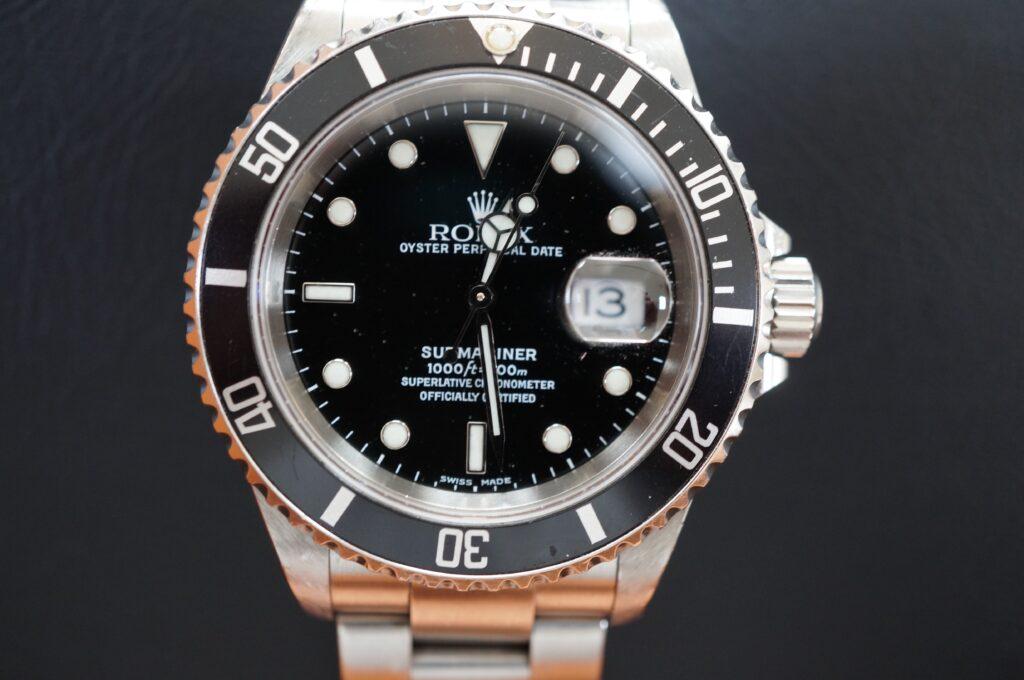 No.2645  ROLEX(ロレックス)自動巻 腕時計を修理しました