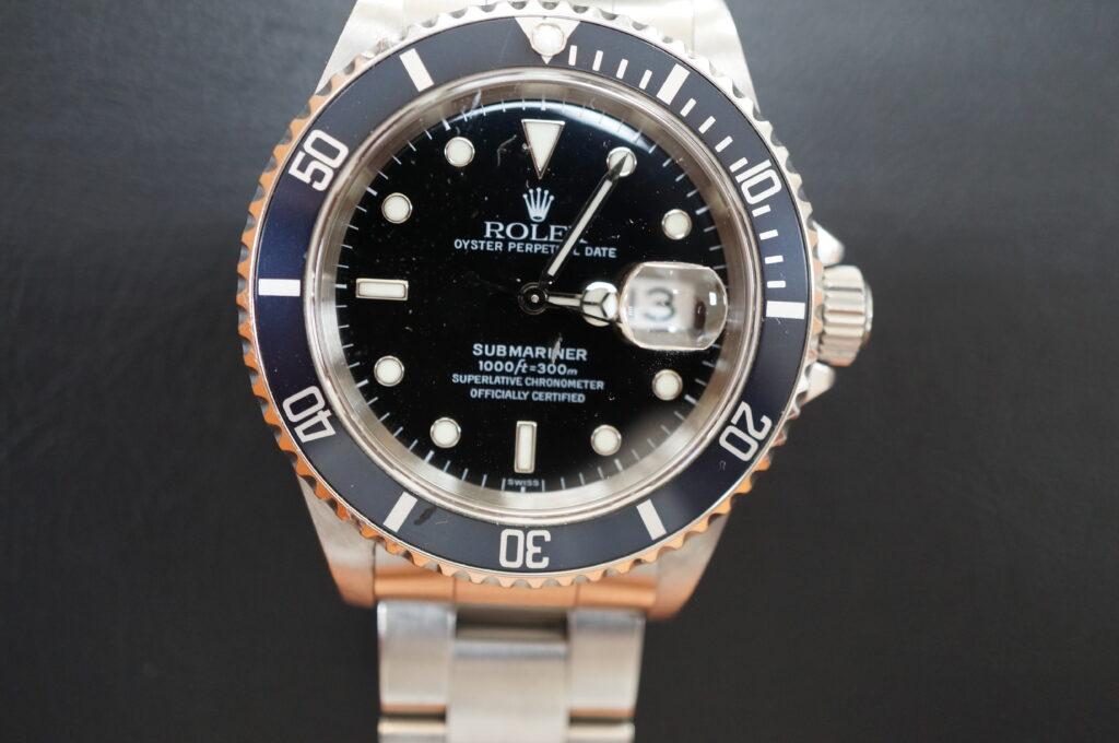 No.2647  ROLEX(ロレックス)自動巻 腕時計を修理しました