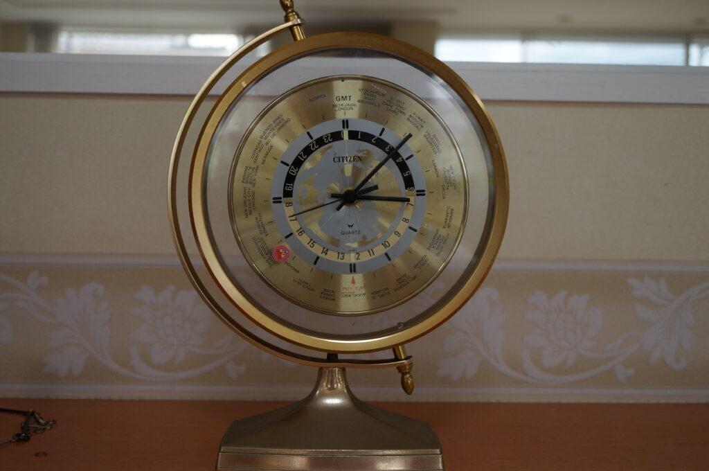 No.2661  CITIZEN (シチズン) クォーツ式 置時計を修理しました