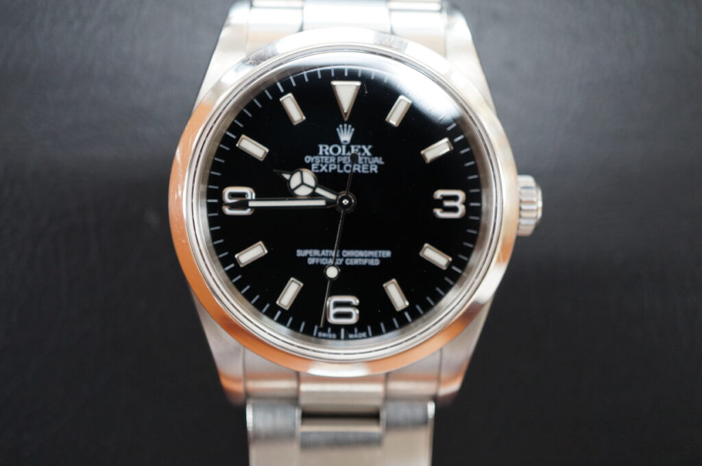 No.2649  ROLEX(ロレックス)自動巻 腕時計を修理しました