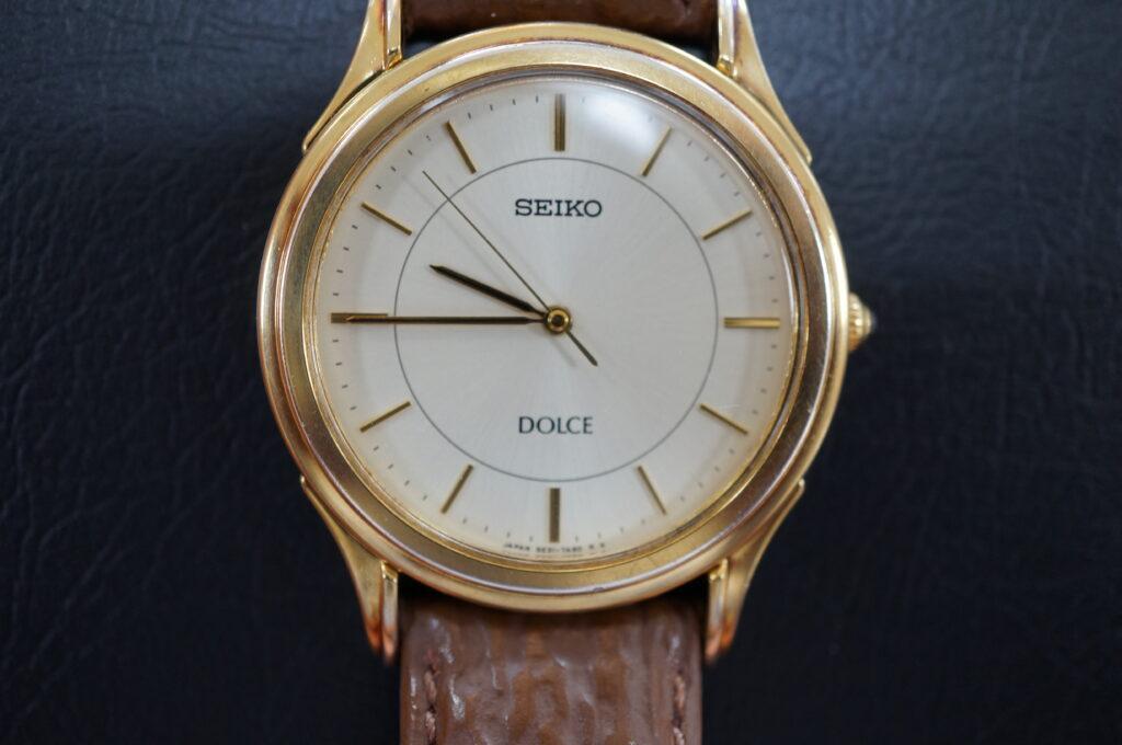 No.2650  SEIKO DOLCE   (セイコードルチェ ) クォーツ式 腕時計を修理しました