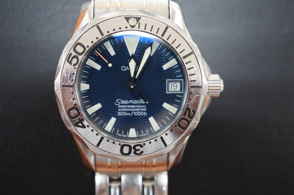 No.2664  OMEGA Seamaster  (シーマスター) 自動巻き 腕時計を修理しました