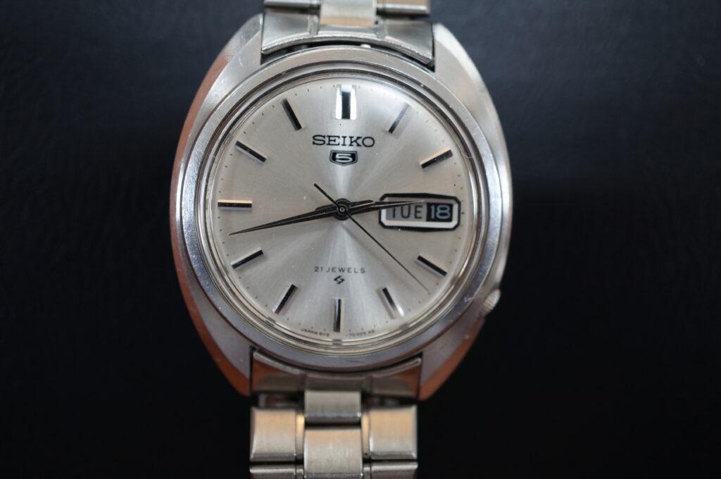 No.2663  SEIKO 5  (セイコー ) 自動巻式 腕時計を修理しました