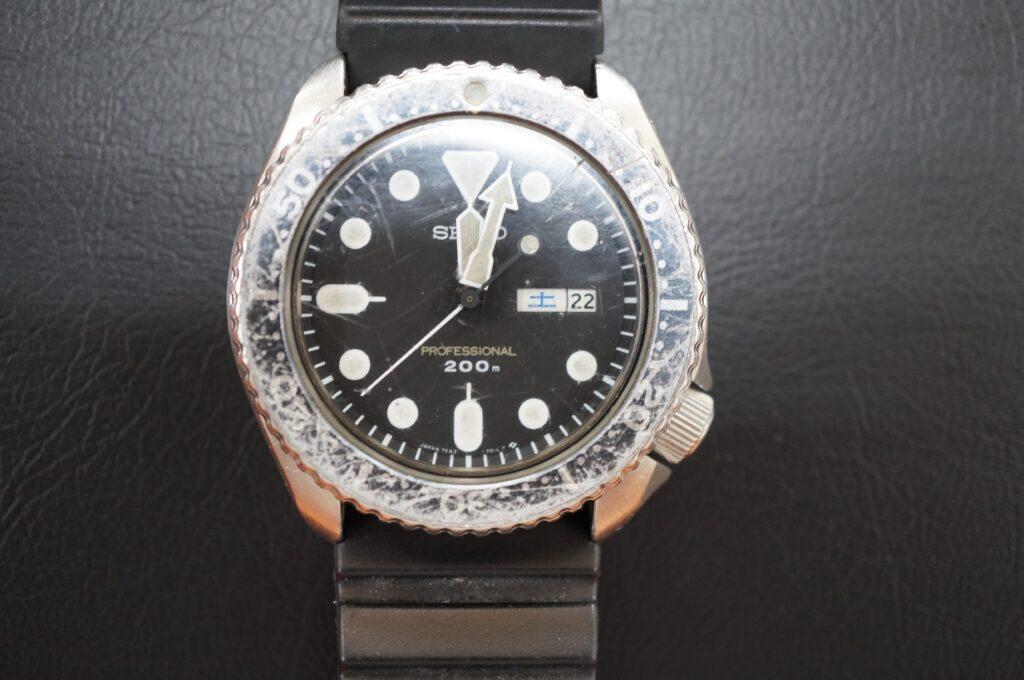 No.2667  SEIKO  (セイコー ) クオーツ式 腕時計を修理しました