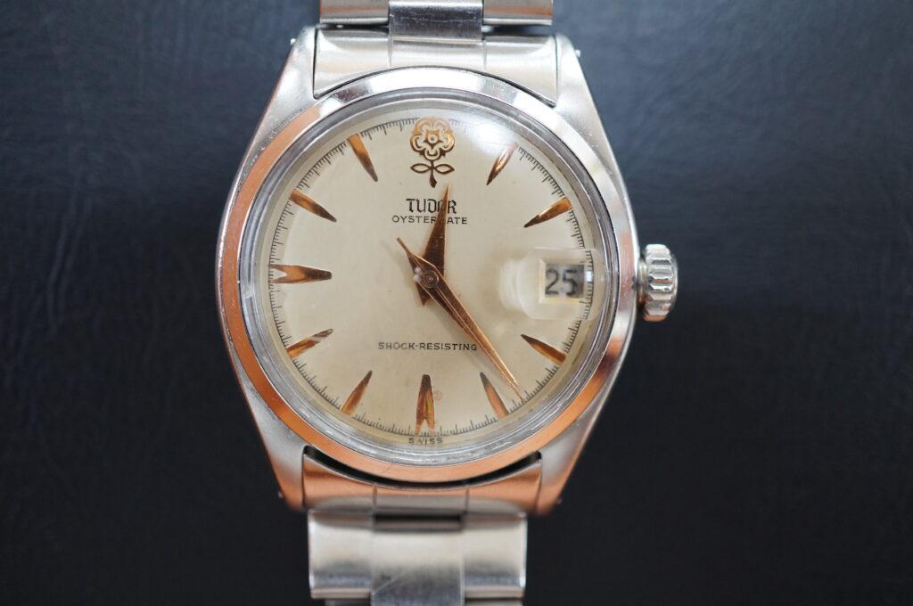 No.2669  TUDOR(チュードル)自動巻 腕時計を修理しました