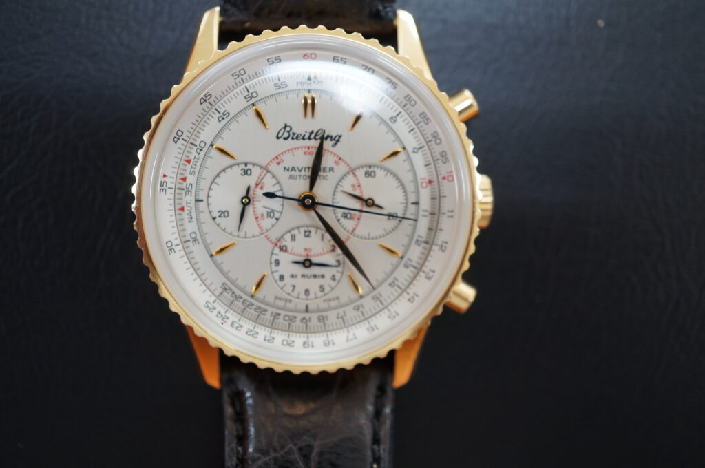 No.2680  BREITLING  (ブライトリング) 自動巻き 腕時計を修理しました