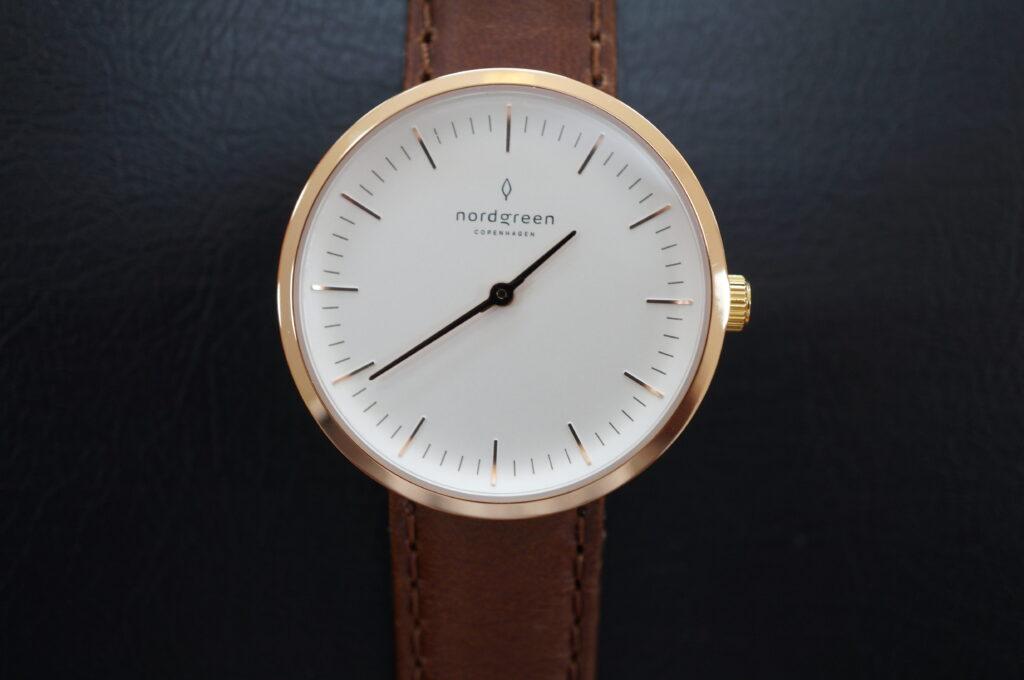No.2683  nordgreen(ノードグリーン) クオーツ式 腕時計を修理しました