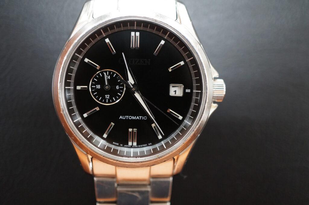 No.2687  CITIZEN (シチズン) 自動巻式  腕時計を修理しました