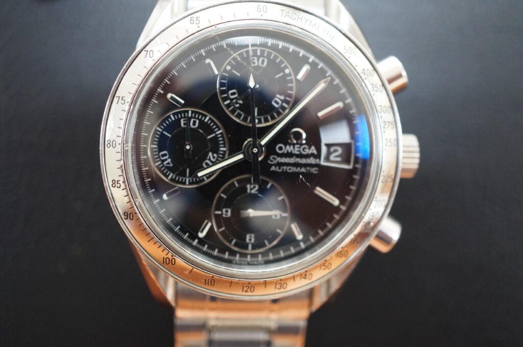 No.2684  OMEGA Speedmaster (オメガスピードマスター) 自動巻き 腕時計を修理しました