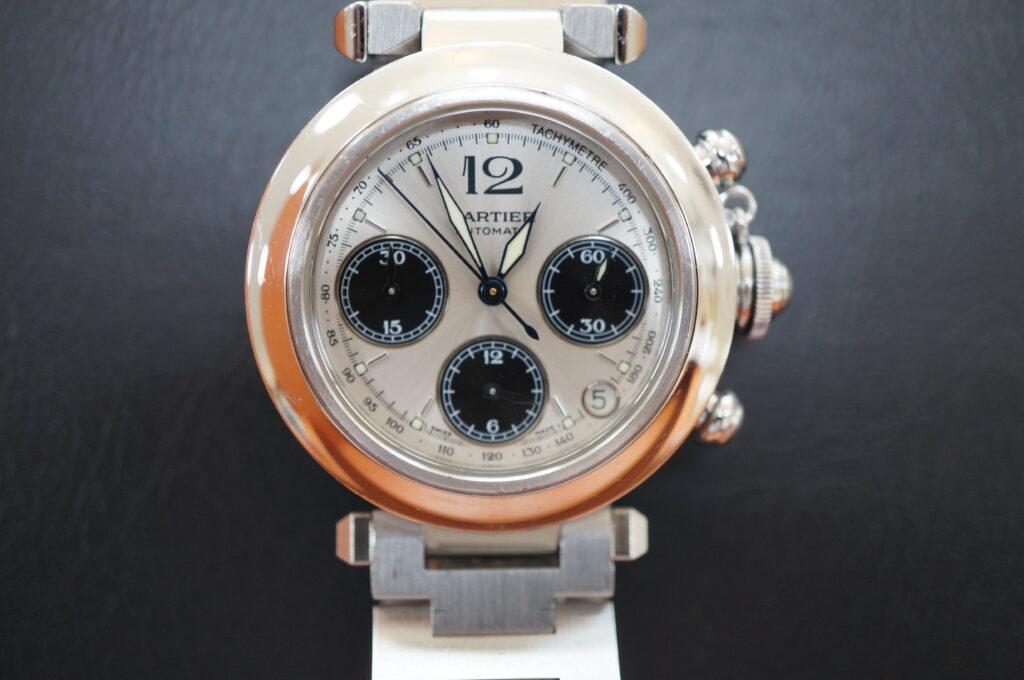 No.2688  CARTER(カルティエ)自動巻 腕時計を修理しました