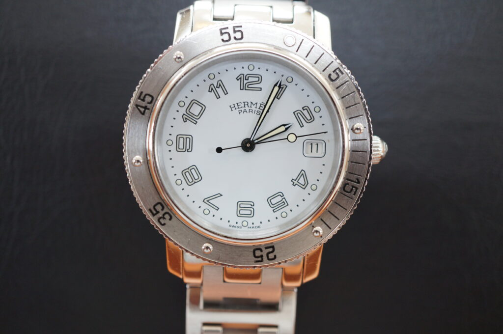 No.2691  HERMES  (エルメス ) クオーツ式 腕時計を修理しました