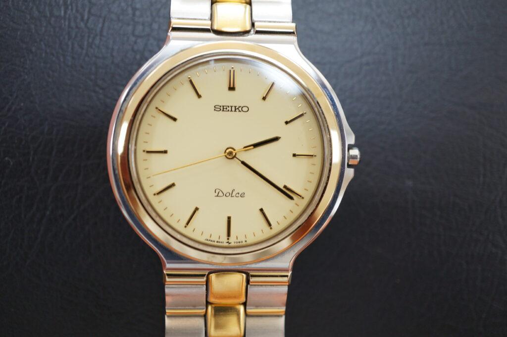 No.2689  SEIKO Dole  (セイコー ドルチェ ) クオーツ式 腕時計を修理しました