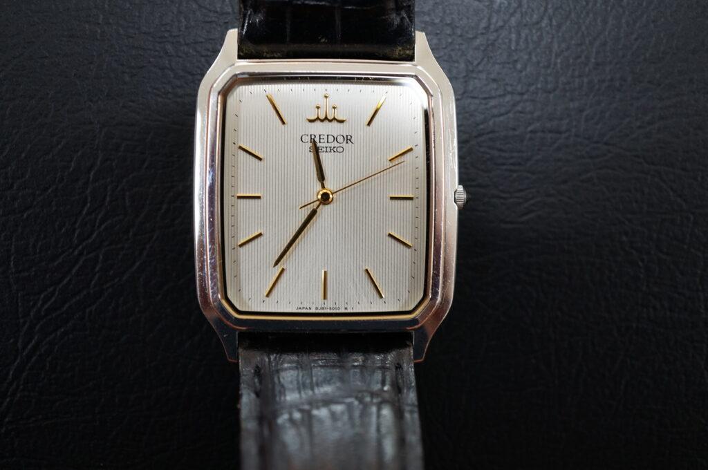 No.2695  SEIKO CREDOR  (セイコー クレドール ) クオーツ式 腕時計を修理しました