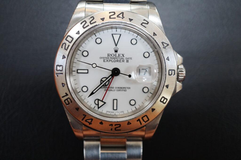 No.2694  ROLEX(ロレックス)自動巻 腕時計を修理しました