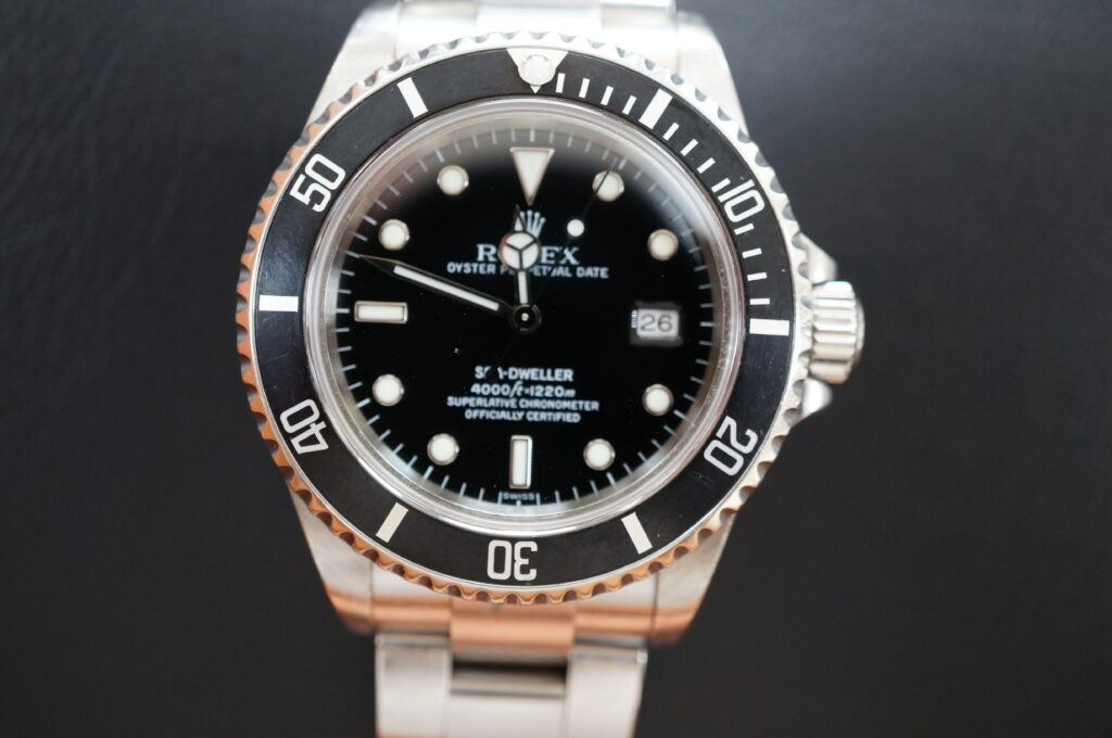 No.2697  ROLEX(ロレックス)自動巻 腕時計を修理しました
