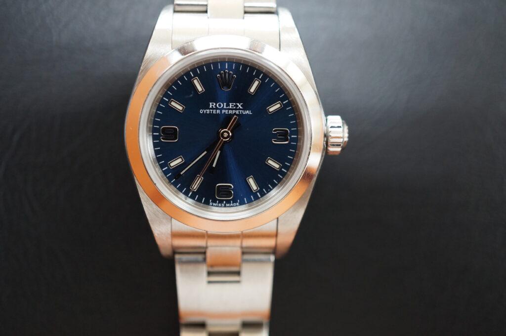 No.2698  ROLEX(ロレックス)自動巻 腕時計を修理しました