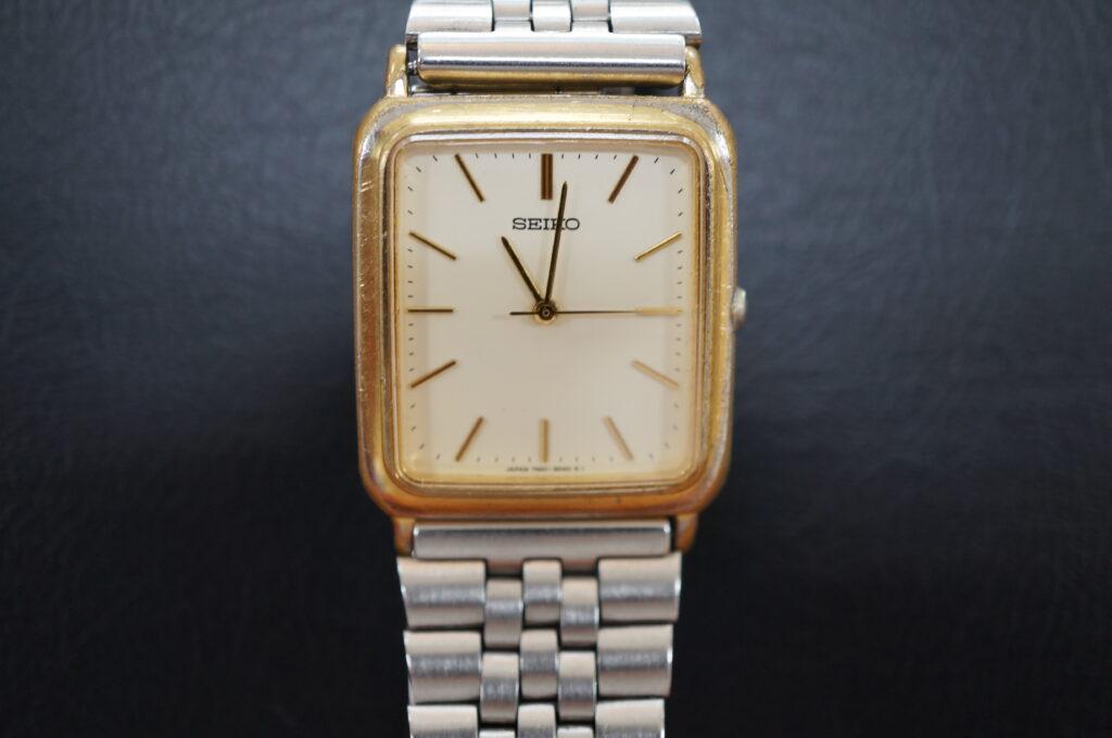 No.2717  SEIKO5  (セイコー ) クオーツ式 腕時計を修理しました